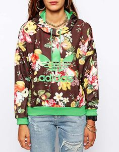 Adidas Originals X Farm Fruit Bowl Hoodie