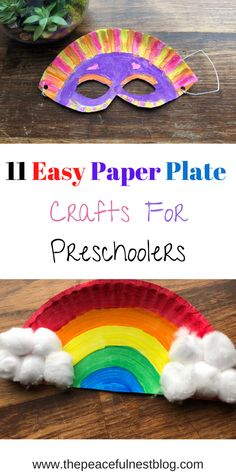 11 Paper Plate Crafts for Kids