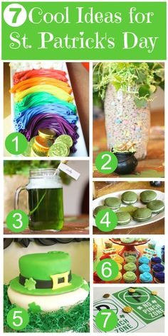 Check out these 7 cool ideas for your St. Patrick's Day party! | CatchMyParty.com