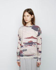 ISABEL MARANT ÉTOILE | Haley Printed Sweatshirt | Shop @ La Garçonne