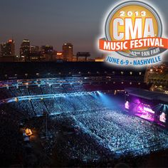 Enter the Chevrolet's CMA Music Festival Sweepstakes and you could score one of 4 Grand Prizes: a 5-night trip for two to the CMA Music Festival, held June 6 – 9, 2013, in Nashville, TN. The prize includes airfare, hotel, and two tickets to the 2013 CMA Music Festival. (ARV: $4,500) WIN AN UNFORGETTABLE TRIP