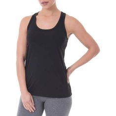 d30c1f7453dfa Danskin Now Women s Dri-More Core Shelf-Bra Racerback Tank