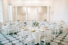 Peach & Gold reception room at  Compton Verney Art Gallery Wedding Venue - Justin Alexander Wedding Dress For A Winter Wedding At Compton Verney Art Gallery With Groom In Reiss And Bridesmaids In Embellished Dresses From Miss Selfridge With Images By Chris Barber And Videography By Simon Clarke Films