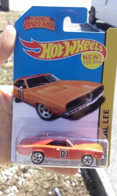 2014 Hot Wheels 69' Dodge Charger Custom General Lee Dukes Of Hazzard