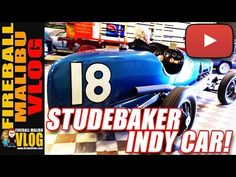 We DRIVE A 1933 #STUDEBAKER INDY CAR! - FMV566 SUBSCRIBE to the Vlog-Blog @ http://ift.tt/12aPqeo We DRIVE A 1933 #STUDEBAKER INDY CAR! - FMV566 - After an amazing morning at the MONTECITIO CARS & COFFEE Fireball and his team of misfits head to The MURPHY MUSEUM and drive a 1933 #Studebaker Indy Car! About STUDEBAKER from Wiki... Studebaker (18521967 /ˈstjuːdəbeɪkər/ STEW-də-bay-kər) was an American wagon and automobile manufacturer based in South Bend Indiana. Founded in 1852 and…