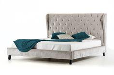 Lansing Sheba Queen Upholstered Panel Bed