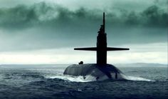 US nuclear submarine at sea