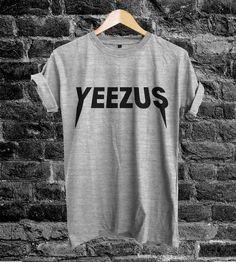 Yeezus Shirt Yeezus Kanye west Unisex Adult T Shirt Tee Size S M L DSRT49  Moda Andrógina e1d064f1b4c