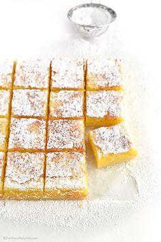 Lemon Bars Recipe | http://shewearsmanyhats.com/lemon-bars-recipe/
