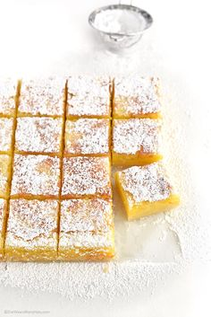 Lemon Bars Recipe | http://shewearsmanyhats.com/lemon-bars-recipe/