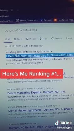 The Best Local SEO Strategy Learn more by connecting with me on TikTok! Click the video link!