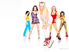 Spice Girls - spice-girls Wallpaper