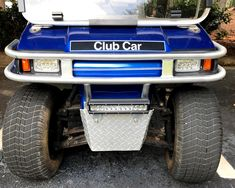 club car ds light kit Golf Cart Repair, Golf Cart Covers, Golf Cart Accessories, Fender Flares, Car Lights, Golf Carts, Bar Lighting, Ds, Antique Cars
