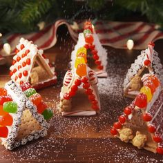 Best House Tiny Videos Little Ideas is part of Christmas food - Christmas Deserts, Noel Christmas, Christmas Goodies, Christmas Treats, Holiday Treats, Holiday Recipes, Christmas Videos, Christmas Decor, Tiny Cooking