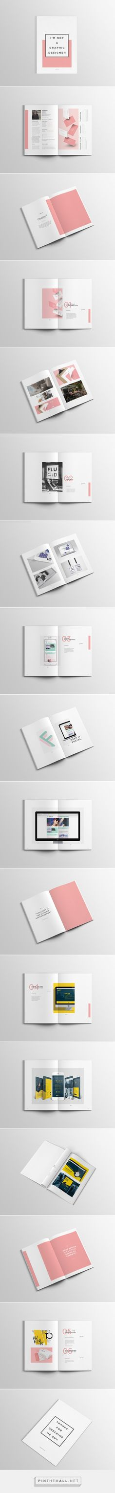 Graphic Design Portfolio — Minimal/Simple on Behance... - a grouped images picture - Pin Them All