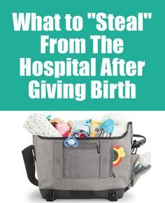 I discussed a but before about how there's some items that you do not need to pack in your hospital bag when it comes time to have a baby simply because those items are available at the hospital and it's pointless to bring your own. That lead to a little discussion on my Facebook page about what items are at most hospitals and it's okay to snag them before you go. Listen, those things are built into the cost of your stay. You are literally paying for them whether you take/use them or not so…