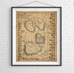 Jerusalem Map Print starting at $16 https://www.etsy.com/listing/519892020/jerusalem-map-print-bible-new-testament?ref=shop_home_active_1 Bible New Testament Map, Biblical Map, Jerusalem Art, Christian Gifts, Vintage Map Poster, Antique Map Art, Old Maps