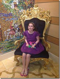 Girl's getaway on Dream Throne Room, Throne Chair, Royal Chair, Disney Planner, Girls Getaway, Disney Dream, Cruise, Aurora Sleeping Beauty, Disney Princess