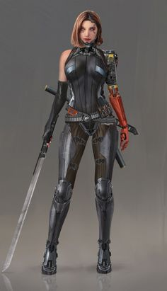 practice by Ningbo Jiang. Ningbo, Christina Ricci, Monster Characters, Female Characters, Character Portraits, Character Art, Character Reference, Scarlett Johansson, Knights Contract