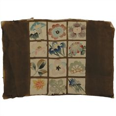 Japanese Printed Silk Fragment from the Mae Festa collection at 1st Dibs Gallery, NY