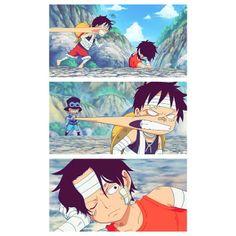 Ace, Sabo, Luffy, One Piece