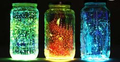 Kouzelně zářící lampiony ze zavařovacích sklenic (Fotonávod)