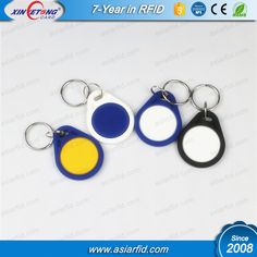 N-TAG213 Programmable NFC Key Fobs , Programmable Key Chain