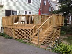 deck build on pinterest deck stairs deck stair railing and decks