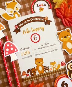 Woodland Animals Birthday Party Ideas With DIY Creative Decorations Printables Food And Favors