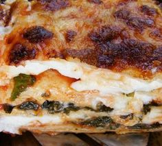 szeretetrehangoltan: Spenótos paradicsomos rakott tészta (Lasagne) házi tésztából