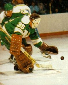 Image result for fern rivard Minnesota North Stars, Minnesota Wild, Wild North, Hockey Goalie, Nhl, Old School, Fern, Classic, Hockey Stuff