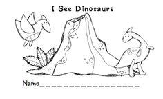 Preschool Wonders: Another Dinosaur Freebie!
