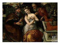 susanna and the elders  | Susanna and the Elders, (Susanna, Bathing in Her Garden, Is Spied on ...