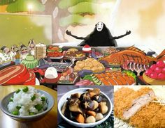 An introduction to the cuisine of Japan through the movie Spirited Away - awesome