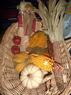 Autumn-Themed Basket    Mama Of Many Blessings: Fall Montessori Work