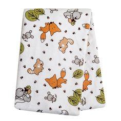 "Trend Lab Flannel Swaddle Blanket - Forest Animal - Trend Lab - Babies ""R"" Us"