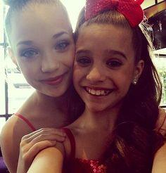 Maddie and Mackenzie Ziegler #DWTS