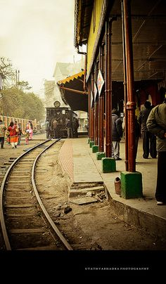 The Darjeeling Himalayan Railway -- the Toy Train.