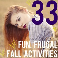 33 fun, frugal fall activities   AndThenWeSaved.com
