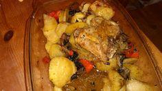 Ania mama Agnieszki: Udka z kurczaka zapiekane z warzywami