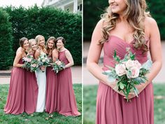 Rose Gold, Cinnamon Rose & Greenery Wedding at Omni Bedford Springs by Lauren Myers Photography Princess Wedding, Rose Wedding, Dream Wedding, Fantasy Wedding, Spring Wedding, Wedding Flowers, Colored Wedding Gowns, Wedding Bridesmaid Dresses, Wedding Color Schemes