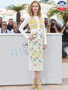 Emily Blunt at Cannes 2015 - Cannes 2015: Flats-Wearing Women Get Rejected, Celebs Weigh In