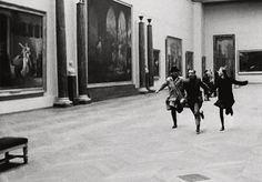 thestandrewknot:  'Band à Part', Jean-Luc Godard (1964).