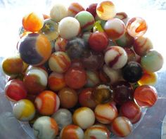 Vintage Marbles | dabble: creative inspiration