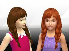 Sims 4 CC's - The Best: Spring Braids for Girls by Kiara24