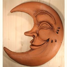 Terracotta Moons For Your Home and Garden   Southwest Decor