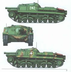 Colour profiles of the Zrínyi assault gun Tank Armor, War Thunder, War Dogs, Engin, Defence Force, Armored Fighting Vehicle, World Of Tanks, Military Equipment, Panzer