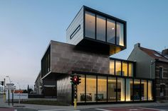 Container-shaped Office Building with Multiple Fronts – HECTAAR Office Building | Home, Building, Furniture and Interior Design Ideas