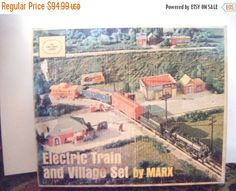 30% Off Storewide Electric Train and Village Set By by parkledge