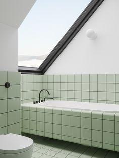 Minimalist Home With Blue and Yellow Accent Inspirationen: Badezimmer - Home Interior Design, Schlaf Bad Inspiration, Bathroom Inspiration, Interior Inspiration, Bathroom Ideas, Shower Ideas, Minimalist Decor, Minimalist Scandinavian, Minimalist Bathroom, Modern Minimalist